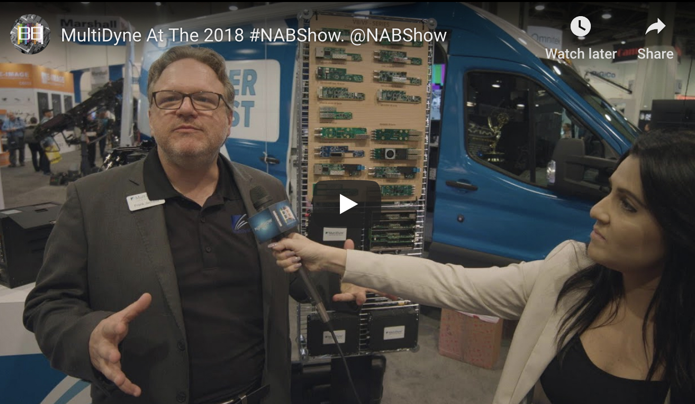 Frank Jachetta speaks with Broadcast Beat Live at NAB 2018!
