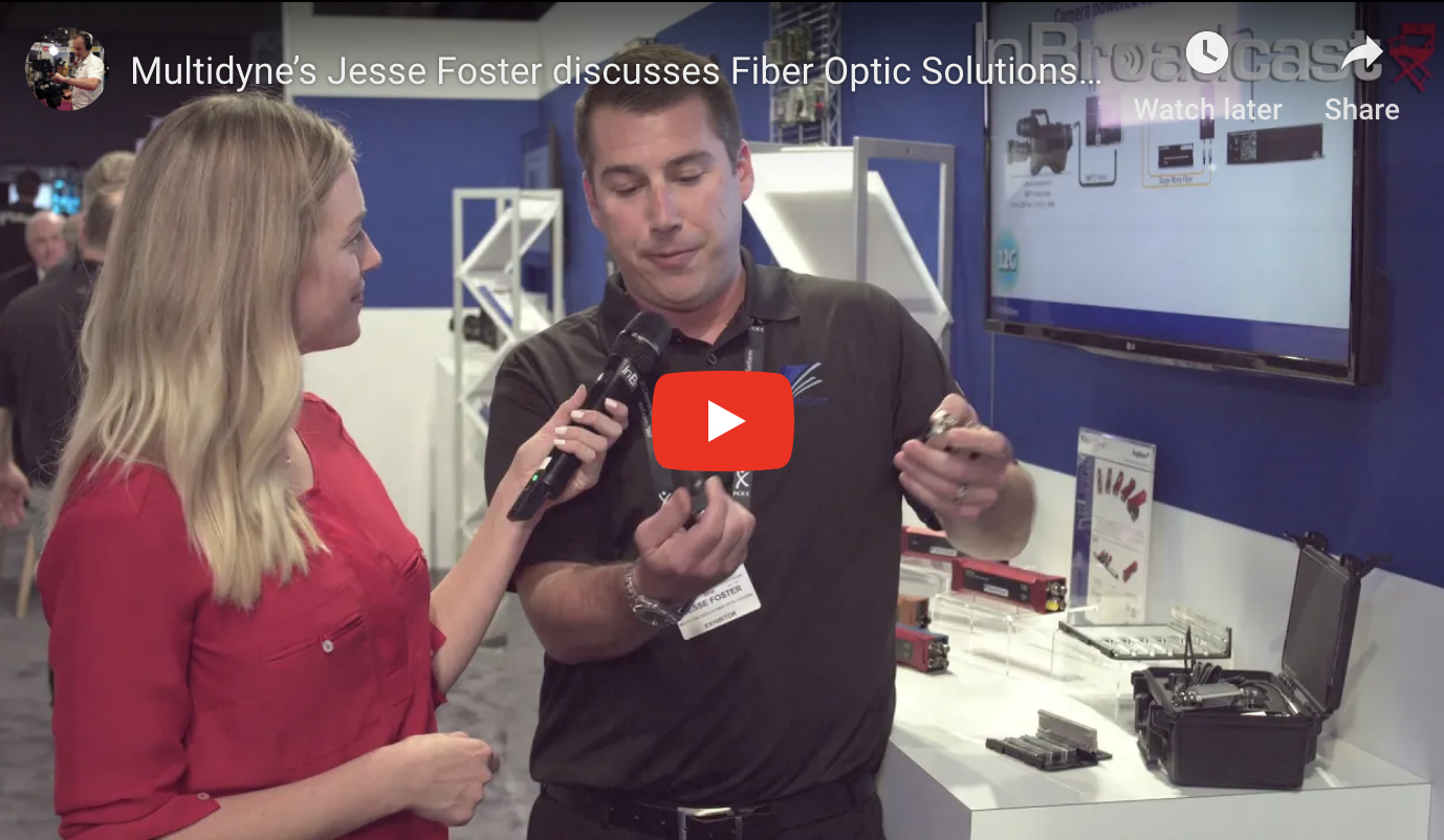 Jesse Foster speaks with InBroadcast at IBC 2018!