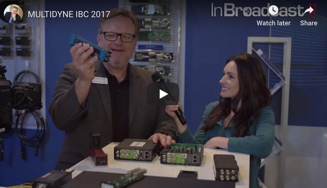Multidyne IBC 2017