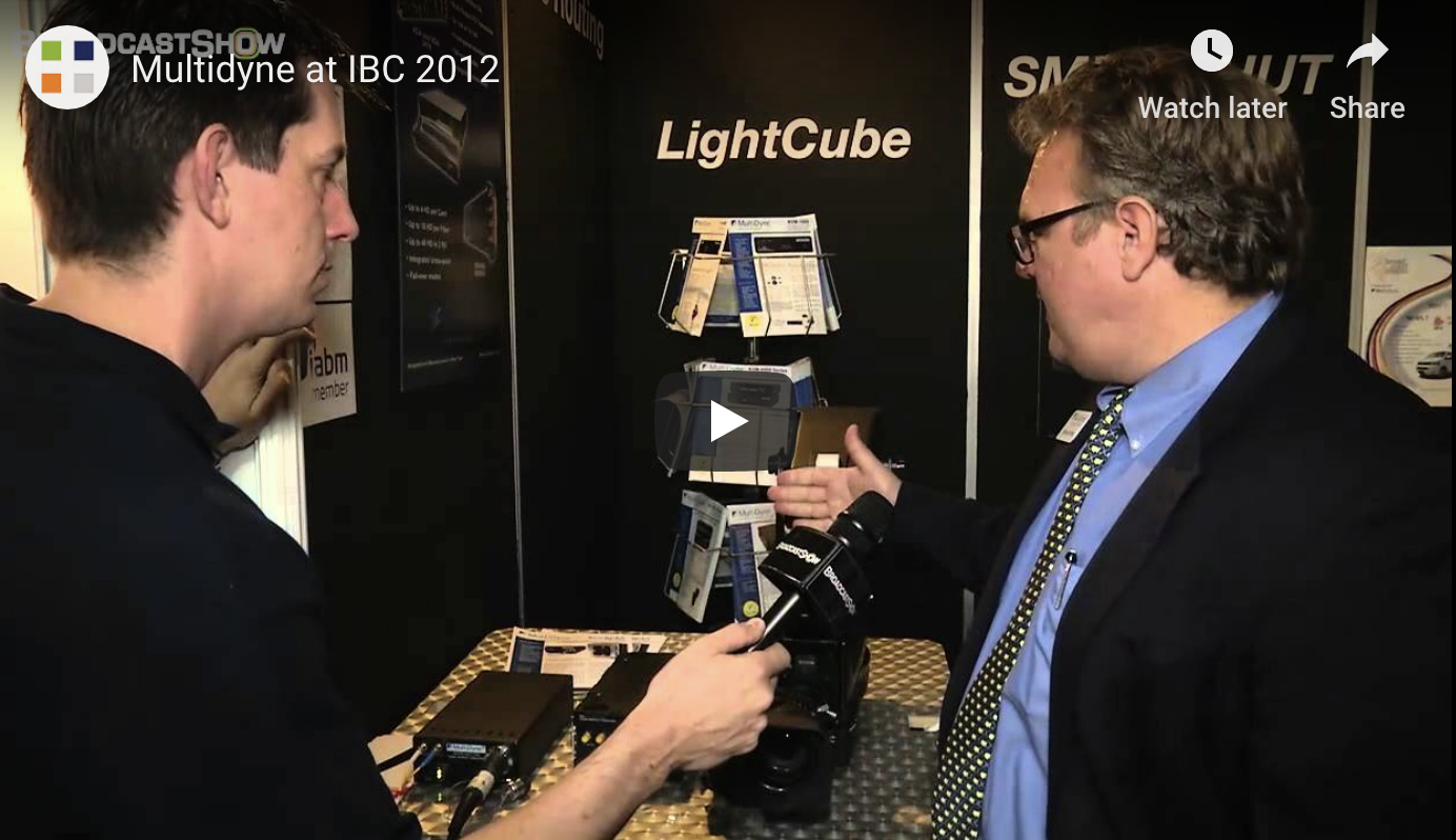 MultiDyne President Frank Jachetta talks to BroadcastShow at IBC 2012