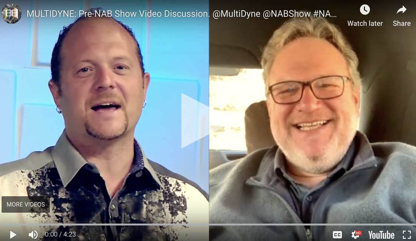 Pre-NAB 2019 Show Video Discussion with Broadcast Beat