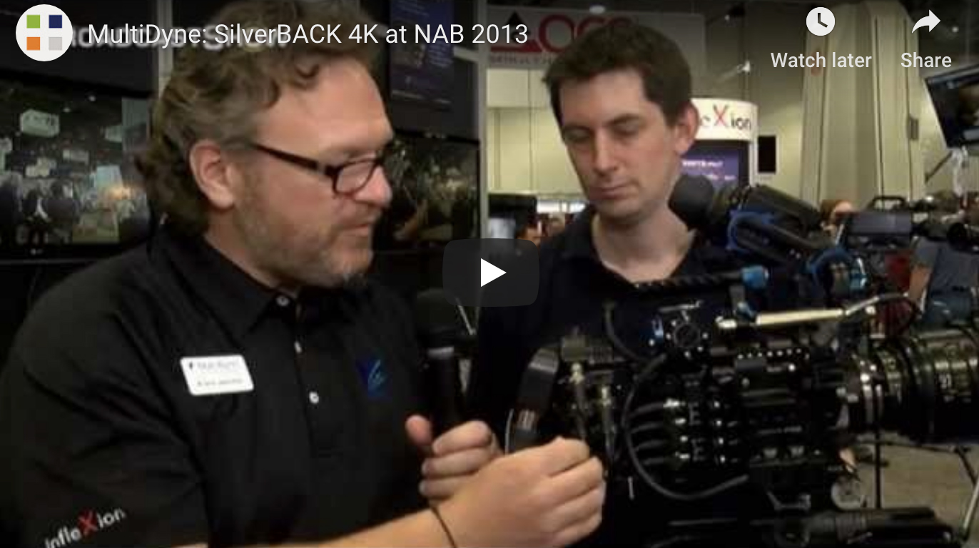 Talking about 4K production and the new SilverBACK on an F55